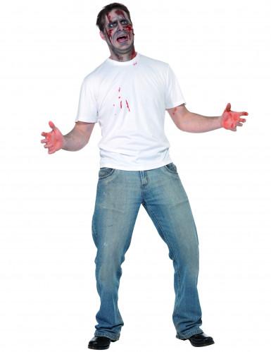 Costume persona pugnalata adulto