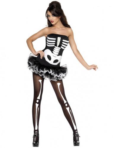 Costume da scheletro sexy donna Halloween