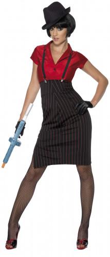 Costume gangster donna