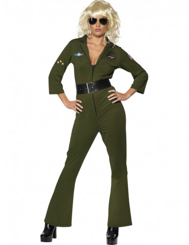 Costume aviatore Hottie Top Gun™ donna