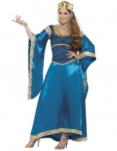 Costume regina medievale deluxe donna
