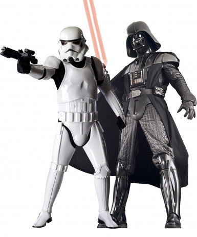 Costume coppia Supreme Edition Darth Vader e Stormtrooper Star Wars™