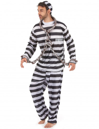 Costume da carcerato per uomo-1