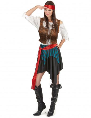 Costume coppia pirati deluxe-1