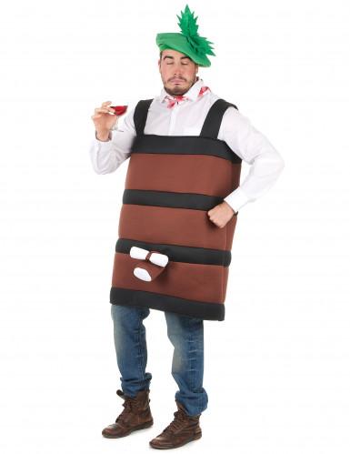 Costume botte di vino adulti-1