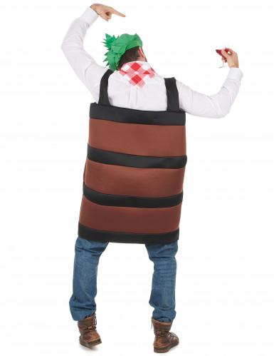 Costume botte di vino adulti-2
