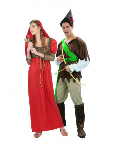 Costume coppia medievale