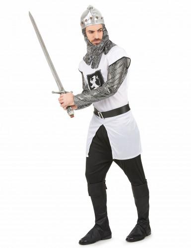 Costume cavaliere con stemma leonino uomo-1