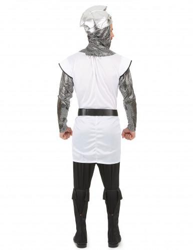 Costume cavaliere con stemma leonino uomo-2
