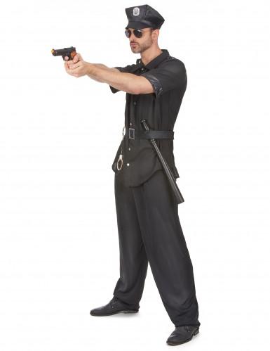 Costume poliziotto piedi piatti per uomo-1