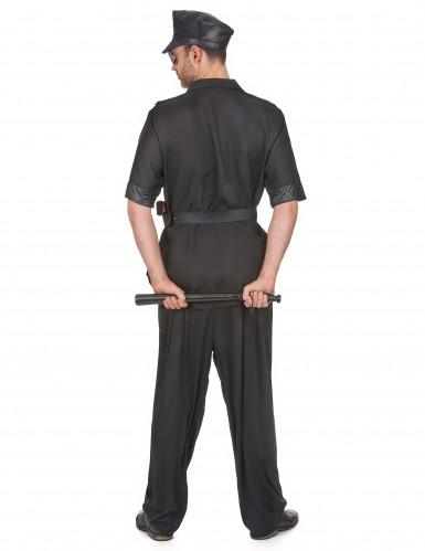 Costume poliziotto piedi piatti per uomo-2
