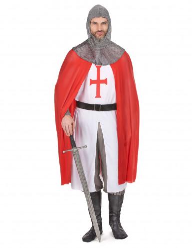 Costume cavaliere crociato uomo