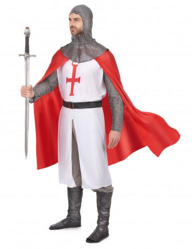 Costume cavaliere crociato uomo-1