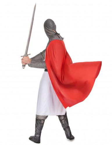 Costume cavaliere crociato uomo-2
