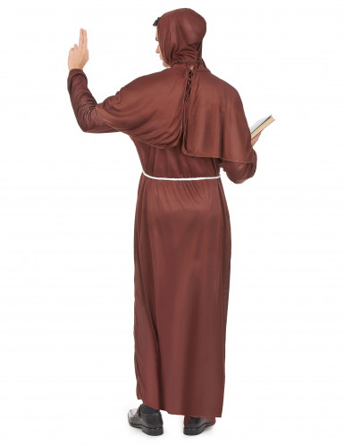 Costume da frate francescano per uomo-2