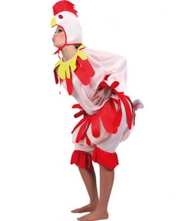 Costume gallina adulti