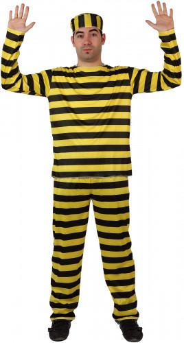 Costume famoso carcerato uomo