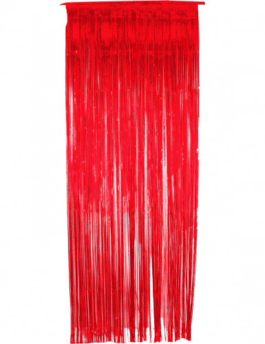 Tenda scintillante rossa