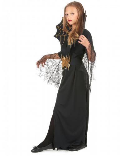 Costume da strega ragno per bambina- Halloween-1