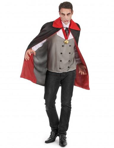 Costume da vampiro spaventoso uomo Halloween