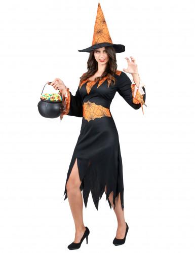 Costume strega ragno donna Halloween-1