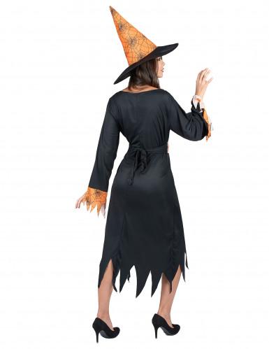 Costume strega ragno donna Halloween-2