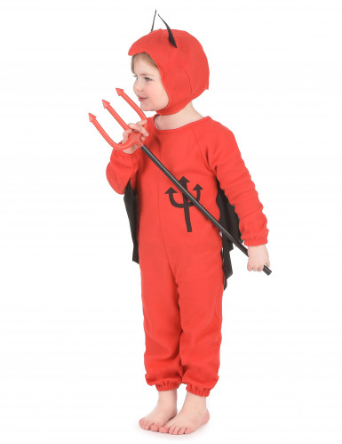 Costume da diavolo bambino Halloween-1