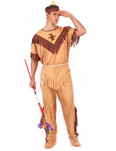 Costume esploratore indiano per uomo