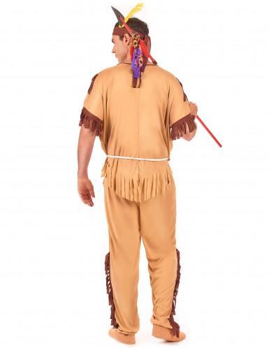 Costume esploratore indiano per uomo-2