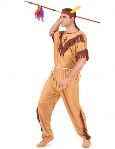 Costume esploratore indiano per uomo-1