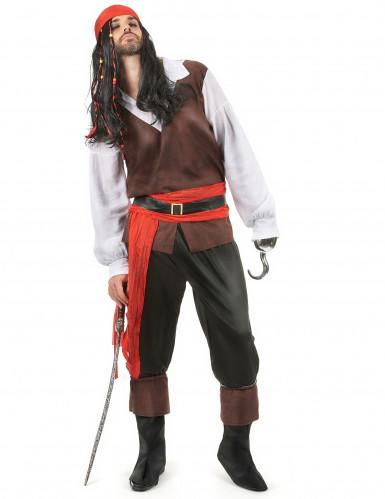 Costume da eroe pirata uomo