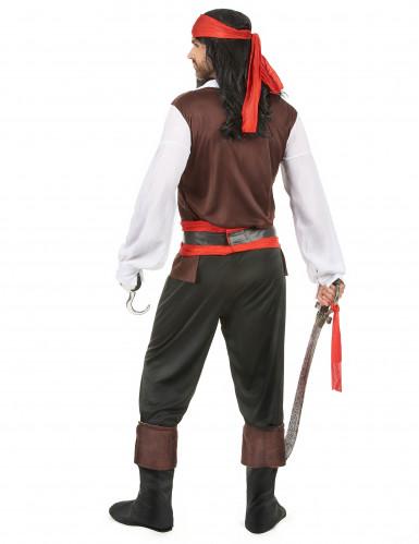 Costume da eroe pirata uomo-2