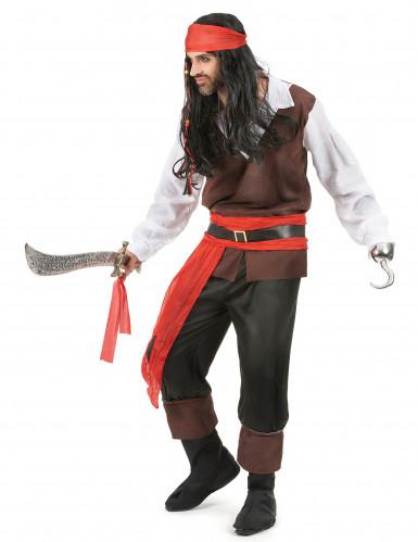Costume da eroe pirata uomo-1