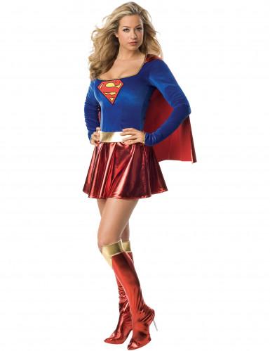 Costume lusso da SuperGirl™ sexy donna