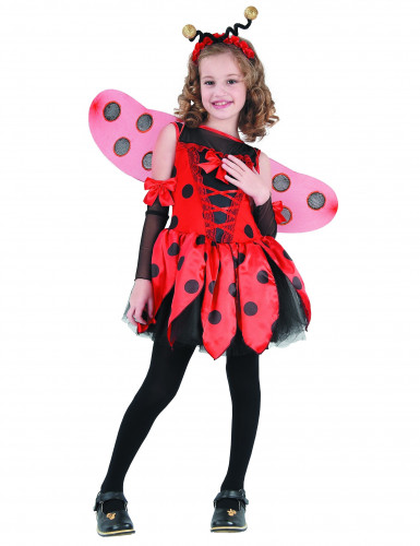 Costume coccinella fashion bambina