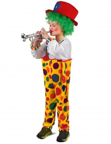 Costume da clown a pois bambino-1