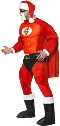 Costume Babbo Natale muscoloso uomo-2