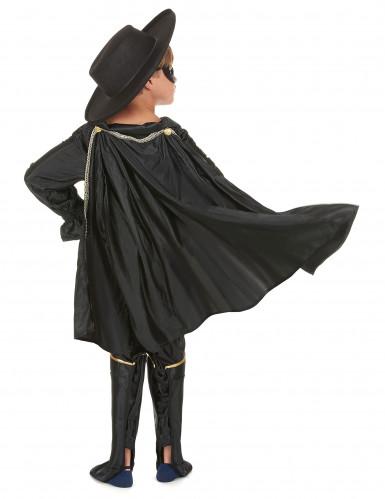 Costume giustiziere mascherato con mantello bambino-2