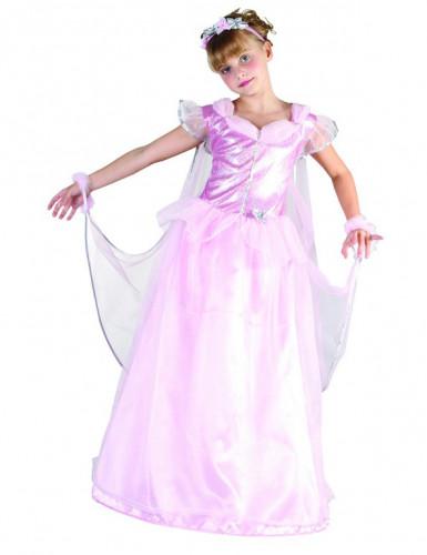 Costume principessa scintillante per bambina