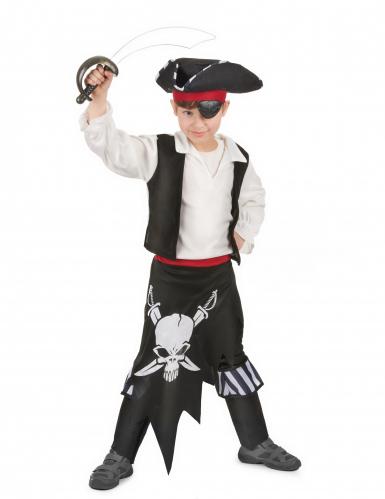 Costume pirata con teschio per bambino