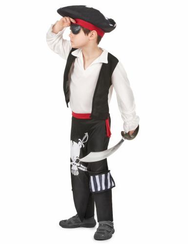 Costume pirata con teschio per bambino-1
