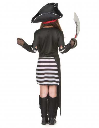 Costume pirata con gonna lunga per bambina-2