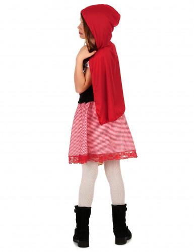 Costume Cappuccetto Rosso a quadretti bambina-1