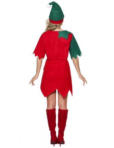 Costume da elfo donna Natale-1