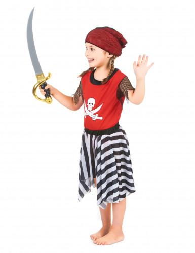 Costume pirata all'arrembaggio bambina-1