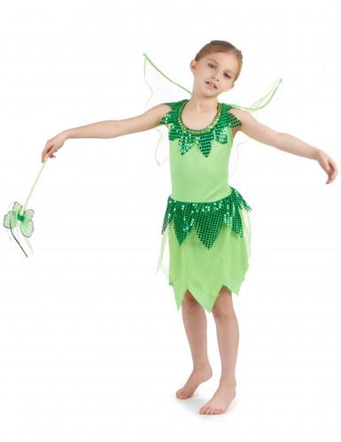 Costume fata verde bambina-1