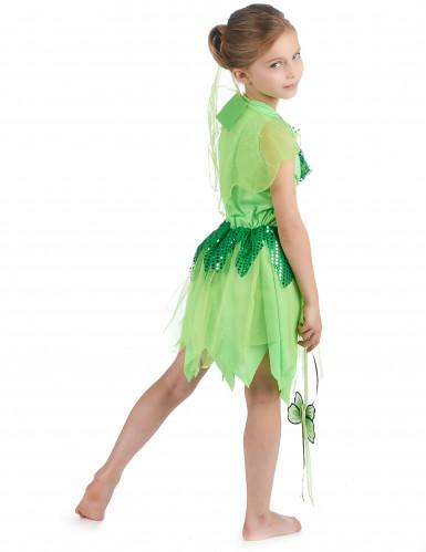 Costume fata verde bambina-2