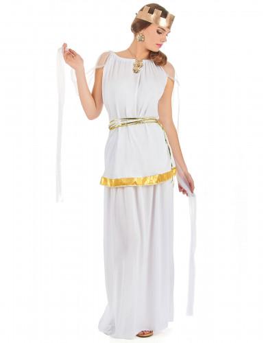 Costume da dea greca bianca per donna
