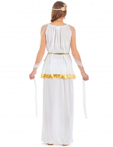 Costume da dea greca bianca per donna-2