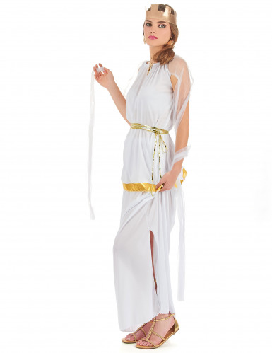 Costume da dea greca bianca per donna-1